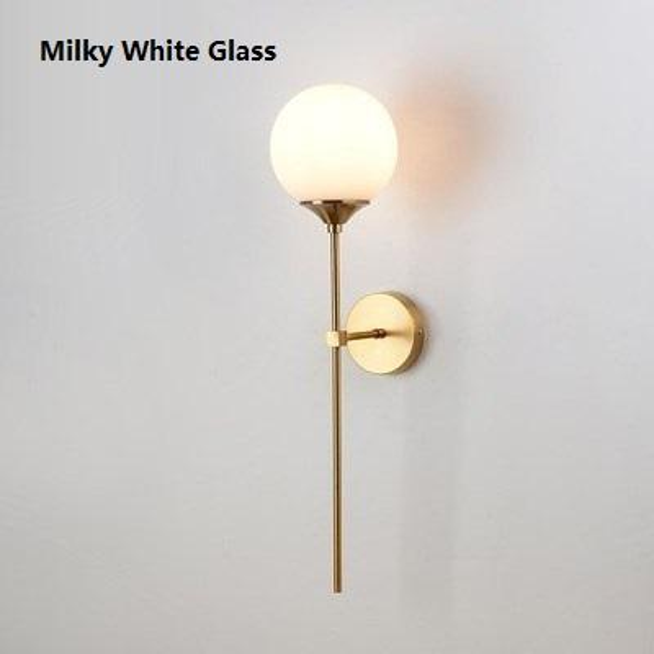 Milky White Glass
