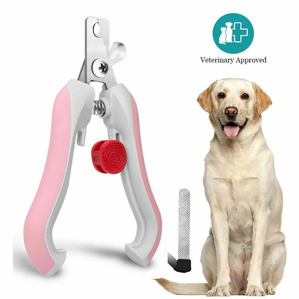Dog Nail Clippers Pet Petite Grande coupe Ciseaux Claw Toilettage professionnel
