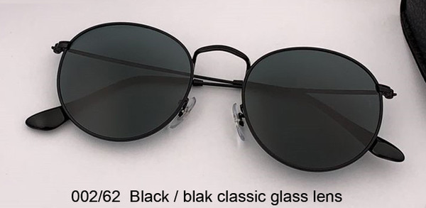 002/62 black/black classic lens
