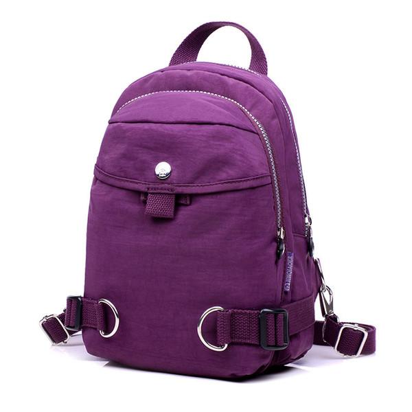 Женская сумка модная мода новый водонепроницаемый нейлон спортивный стиль сумка рюкзак отдыха рюкзак студента путешествия