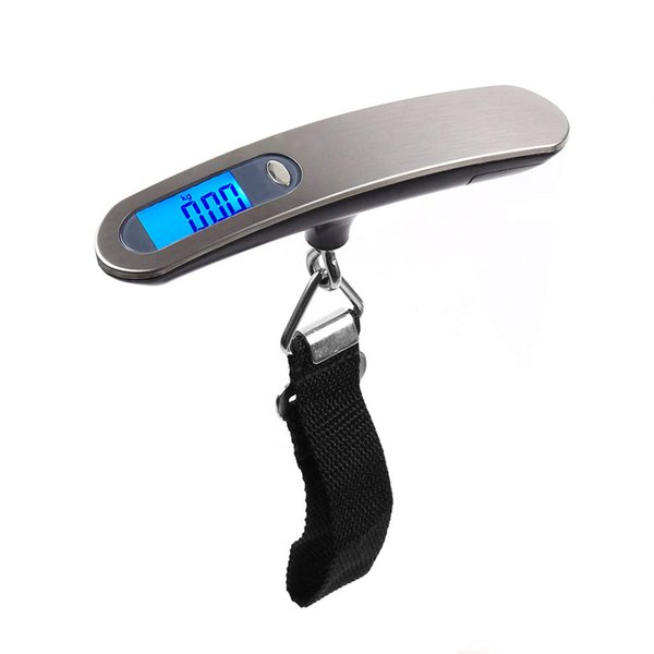 Digital Luggage Scale 50kg X 10g Portable Electronic Scale Weight Balance Suitcase Travel Hanging Steelyard Hook Scale