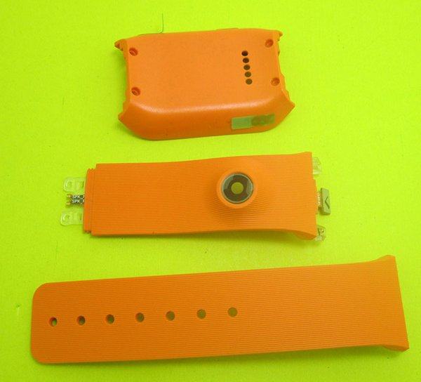 Back Cover Housing Door Rear Watch Band Battery Cover Silicone Strap For Samsung Galaxy Gear V700 SM-V700