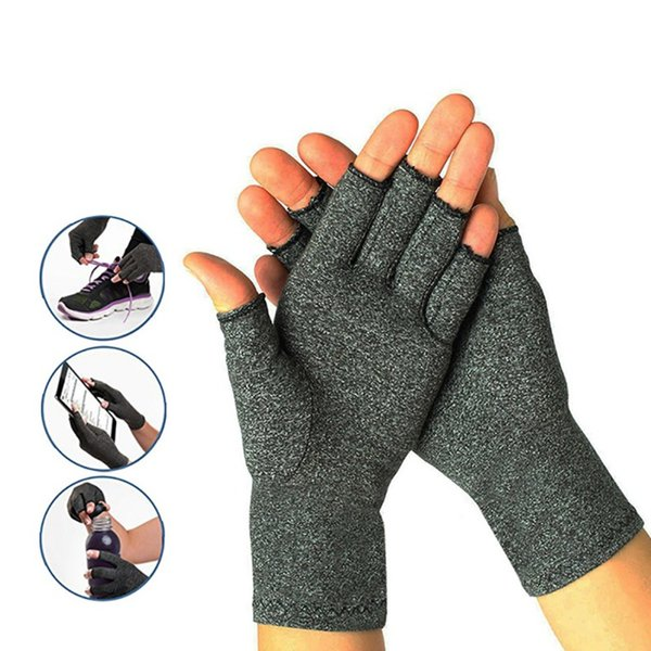 Sports Fitness Unibersal Men and Women Dedicated Protective Gloves Half Finger Cotton Spandex Compression Safety Arthritis