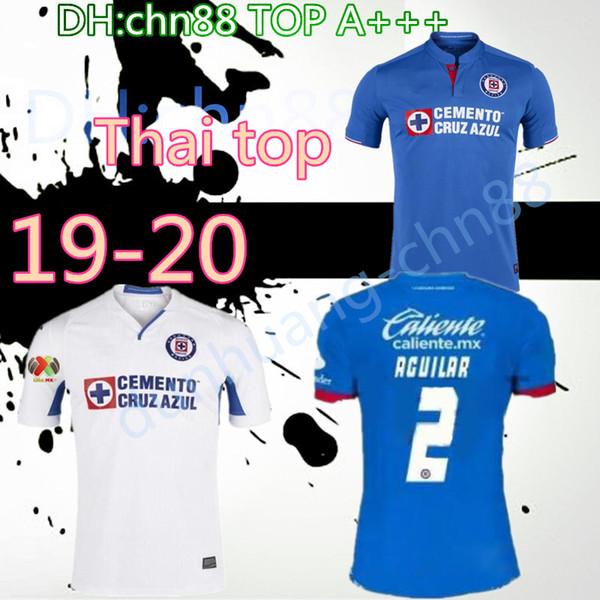 2019 2020 Cruz azul Soccer jersey home 19 20 Hernandez liga mx lIvan Marcone Walter Montoya Hernandez Mendez maglia da calcio