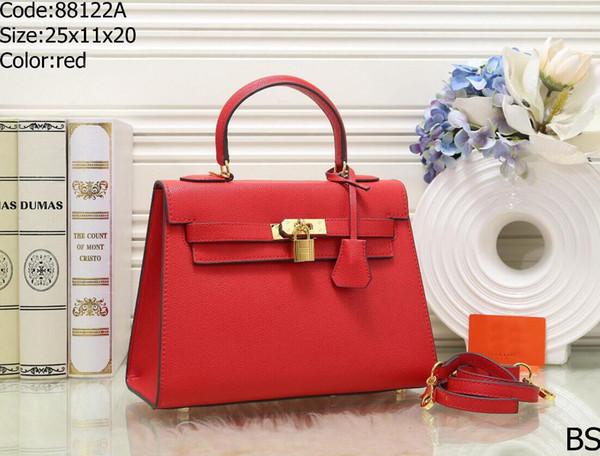Ladies leather bag anti-theft fashion handbags high quality crocodile design lock shoulder ladies Messenger bag ladies bag