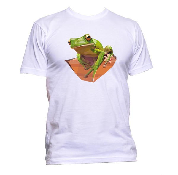 Realistic Frog Animal T-Shirt Mens Womens Unisex Fashion Slogan Comedy Cool Gift