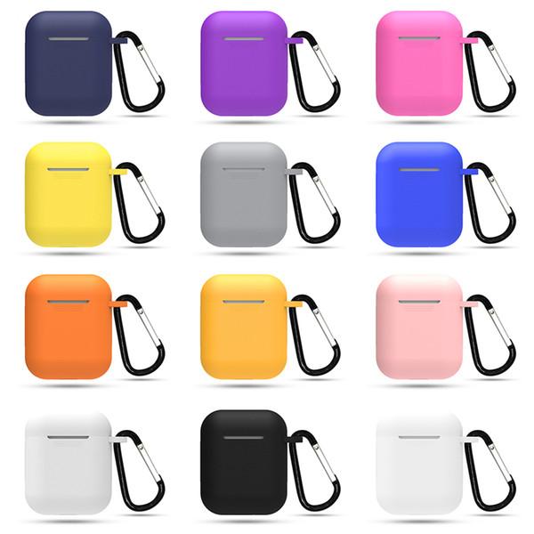 ТПУ Мягкий силиконовый чехол для Airpods Аксессуары Защитная крышка Прозрачный ультра тонкий чехол Противоударный держатель для Apple Air Pod