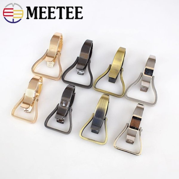 Meetee 25 31mm bag cla p lob ter carbine buckle key chain dog collar trap nap hook trap wivel for luggage part acce ory