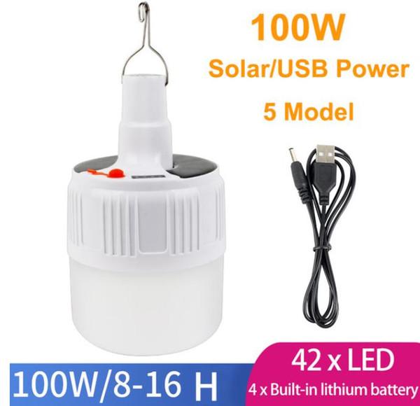 100W USB الطاقة الشمسية