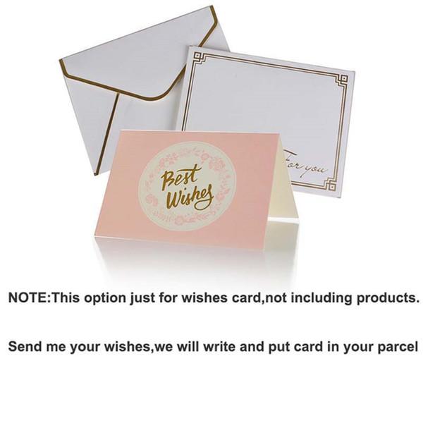cartão de desejo