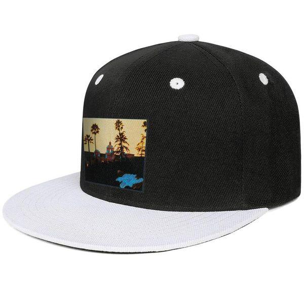 The Eagles Hotel California Design Hip-Hop Caps Snapback Flat Bill Brim Baseball Hats Vintage Adjustable