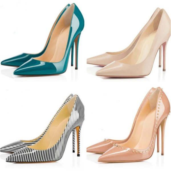 New high-heeled shoes leather outsole show sandals size 35-41 classic hot style dress shoes factory direct