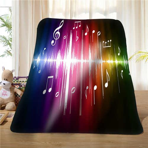 Custom Colorful-cool-background (1) Blanket Soft Fleece DIY Your Picture Decoration Bedroom Sofa Multi Size#928-01-73