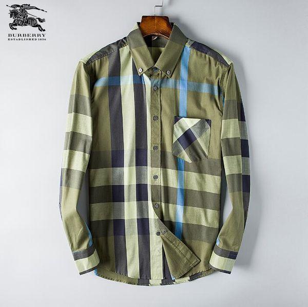 653698176e0 Оптовая осень и зима мужская одежда с длинным рукавом рубашки pure мужская  повседневная рубашка поло модные