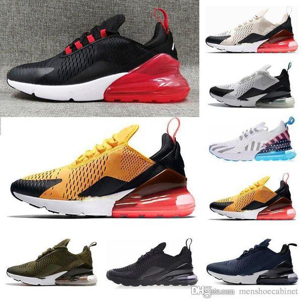 Acheter Nike Air Max 270 2019 TN Cushion Sneakers Designer Sport Hommes Chaussures De Course Entraîneur Road Star BHM Fer Femmes Baskets Taille 36 45