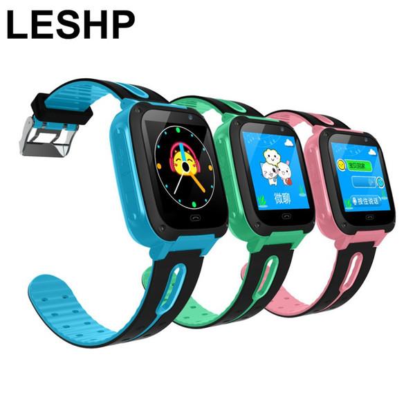 LESHP G36M-S4 Bambini Smart Watch 1.44 INCH Touch Screen GPRS LBS Posizione SOS chiamata Remote Monitor GSM Anti-Lost Watch per Kid