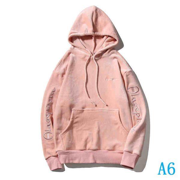 Erkek Hooodie Marka Uzun Kollu Yuvarlak Yaka Moda Günlük Erkekler Kadınlar Kış Sonbahar Hoody Boyut M için 2XLA6
