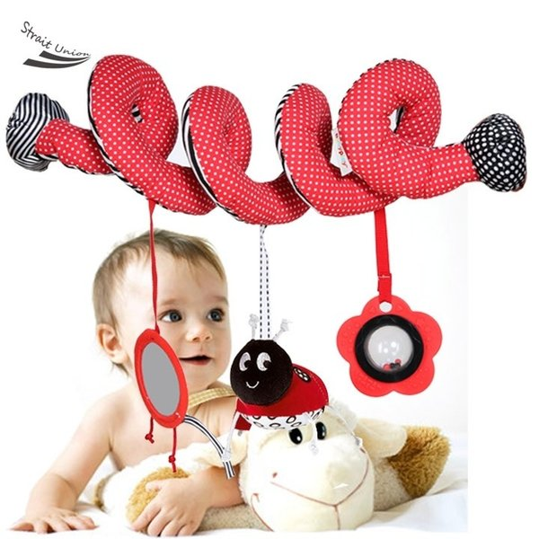 Baby Toys HOT Babyplay Baby Spiral Cot Activity Hanging Decor Toy for Cot / Car Seat / Pram