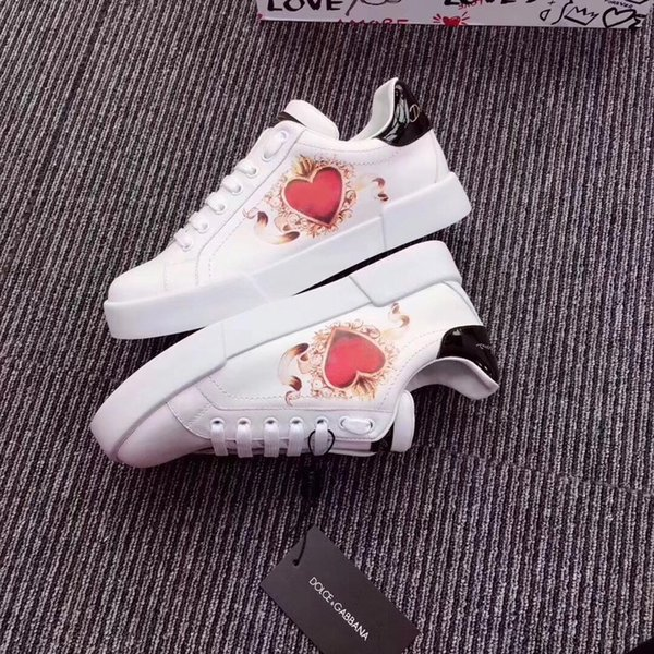 New sports star low to help classic canvas student shoes original designer painting sports shoes ladies casual shoes 35-40