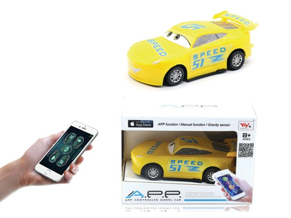 New remote control toy Four-way remote control car mobile APP control children's educational toys