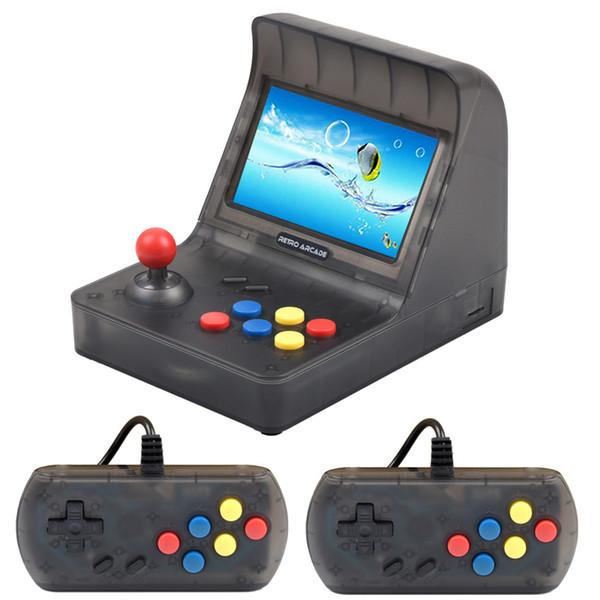 Retro Arcade Game Console SFC MD GBA Gaming Machine 3000 Juegos Clásicos Soporte Expansión de tarjetas TF A8 Gamepad Control AV Out