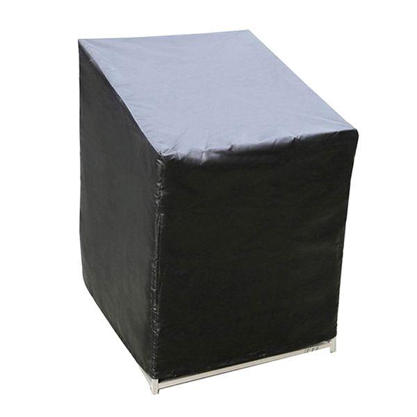 의자 커버 바 안티 먼지 도구 내구성 블랙 가든 유니버설 쉬운 깨끗한 방수 홈 가구 보호 야외