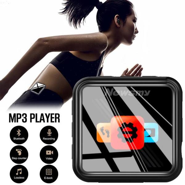 Newsmy B58 Bluetooth Mini 8G Riproduttore Walkman Hifi Lettore musicale Altoparlante FM Registratore audio vocale Dittafono Video MP3