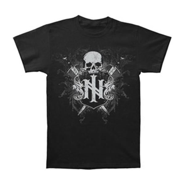 Yüksek Kaliteli Özel Ill Nino erkek Midevil T-shirt Siyah 2018 Kısa Kollu O-Boyun% 100% Pamuk Baskı Erkek Yaz