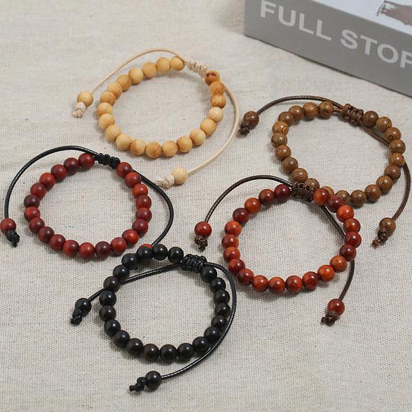 Hand Jewelry Ebony Bracelet Small Gifts Gifts Buddhist Chicken Wings Wood Beads Bracelets Men and Women Jewelry Gifts