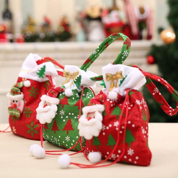 2018 Cute Sock Halloween Christmas Tree Hanging Pendant New Year Tree  Pendants Christmas Gift Bag Party DIY Home Decorations Christmas  Decorations