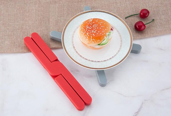 hitzebeständige silikon topfgestelle kreuzförmige wärmeisolierte pad tasse mat faltbare tischset multifunktionssilikonauflage für küche
