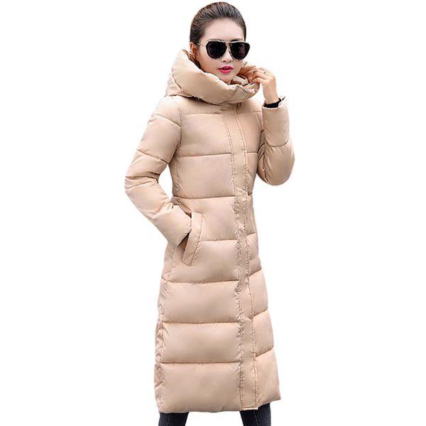 Fashion Winter Jacket Women Thicken Warm Female Jacket Cotton Coat Parkas Long Jaqueta Feminina Inverno Women Hooded CoatMX190822