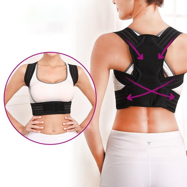 Anti-Humpback Back Correction Back Breathable Correction Band With Clavicle Student Adjustable Sitting Posture Band #344514