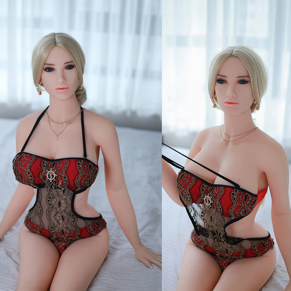 Sex Dolls 100% New 158Cm Tall Dolls With Metal Skeleton Big Tits Chinese Love Dolls Artificial Girl For Sex Realistic Male Sex Toys
