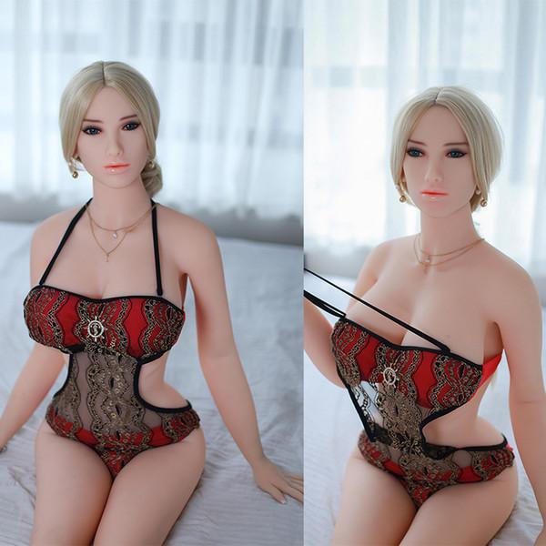 Poupées de sexe 100% nouveau 158cm grands poupées avec squelette en métal gros seins poupées chinoises d'amour fille artificielle pour le sexe réalistes jouets sexuels masculins