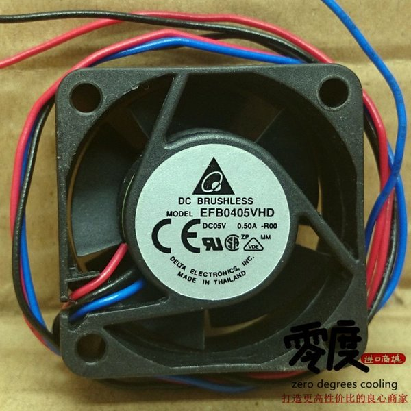 Ventilateur de châssis de serveur Inverter Delta EFB0405 VHD 40204 cm 5V 0.50A