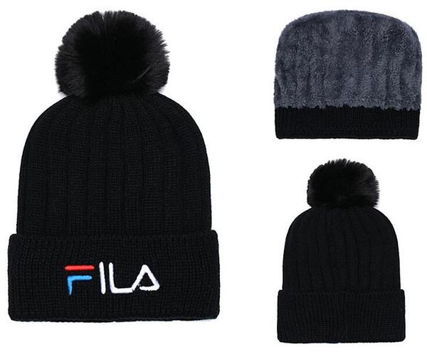 Hot Fashion Unisex Spring Winter Hats for Men women Knitted Beanie Wool Hat Man Knit Bonnet LA Beanie Gorros touca Thicken Warm Cap