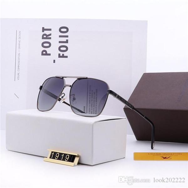 2019 nuovi occhiali da sole di lusso per gli uomini donne Designer ombra occhiali da sole di marca di trasporto del G8Louis Vuitton