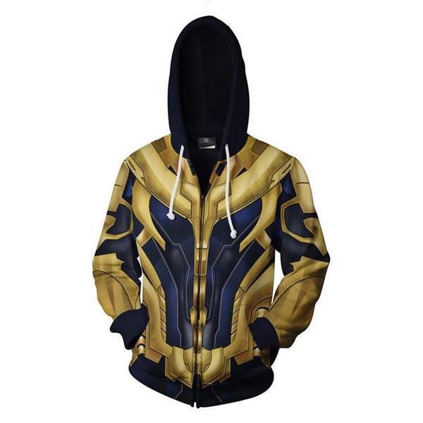 fashion women men 3D Print :Infinity War Thanos Hood pullover Hoodies Sweatshirts pullover Jacket Hip Hop