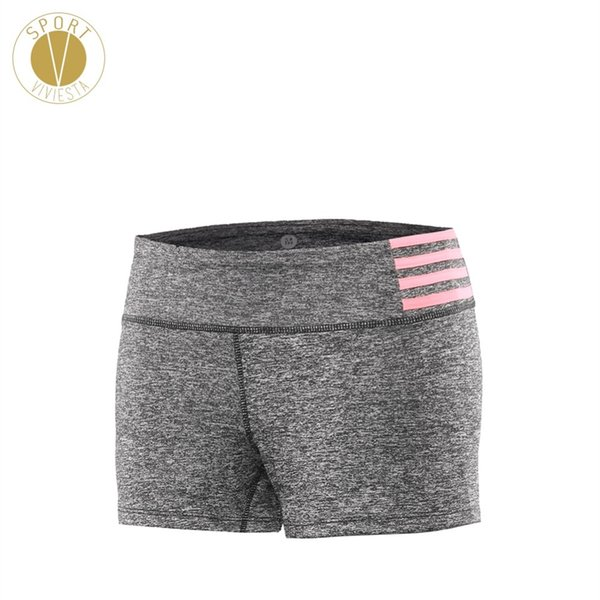 Quick Dry Yoga Sports Shorts - Women's Active Gym Train Running Workout Low Rise Soft Stretch Tight Fit Booty Hot Sleek Shorts #303257
