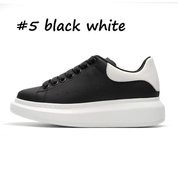 № 5 черный белый