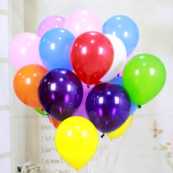 Latex 11 Colored Balloons Choose Color-Lot of 100 party decorations Home, Furniture & DIY Balloons