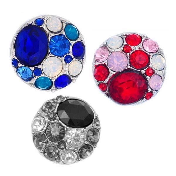 Noosa Amsterdam Chunks Broches Snap Button Jewelry DIY Jewelry Accesorio Adorno Set Noosa / Nosa 3 colores al por mayor