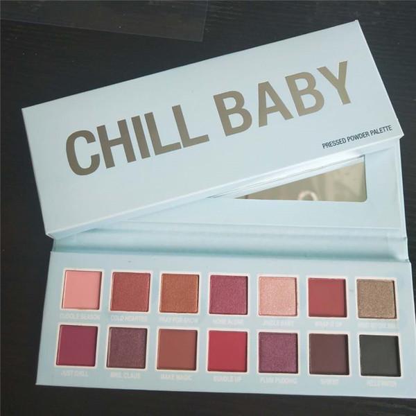 Новая косметика Cmaadu Рождественская коллекция макияжа для глаз CHILL BABY палитра теней для век 14 цветов dhl free