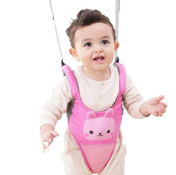 Accesorios para niños Baby Toddler Arnés para caminar Asistente Kids Walking Belt Arnés de seguridad para niños Leash Learning Walk