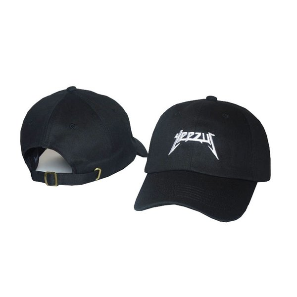 2019 New Black Yeezus Embroidered Glastonbury Unstructured Dad Cap 350 750 Unreleased Kanye Hat casquette rose 6 panel god pray rodeo hat
