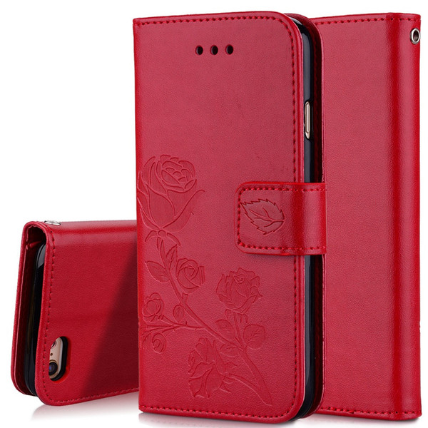 Fashion 3D Flower Leather Wallet With Card Slot Flip Case For Samsung Galaxy S9 S8 Plus S7 S6 Edge S5 S3 Neo S4 Cover
