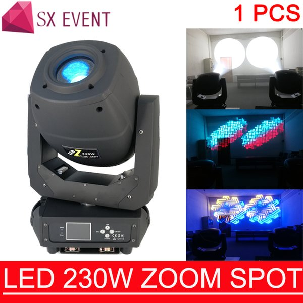 éclairage de scène en gros dj effet de la scène dmx 230W LED BEAM SPOT ZOOM 3IN1 éclairage de la tête mobile