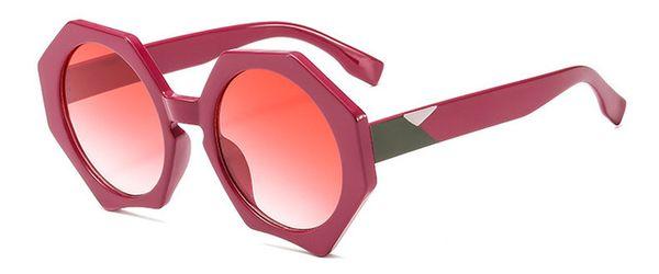 Colore delle lenti: viola rosso rosso