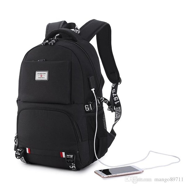 New Anti-thief USB charging laptop Compute backpack for women male Backpack school Bag for Men Mochila backpacks